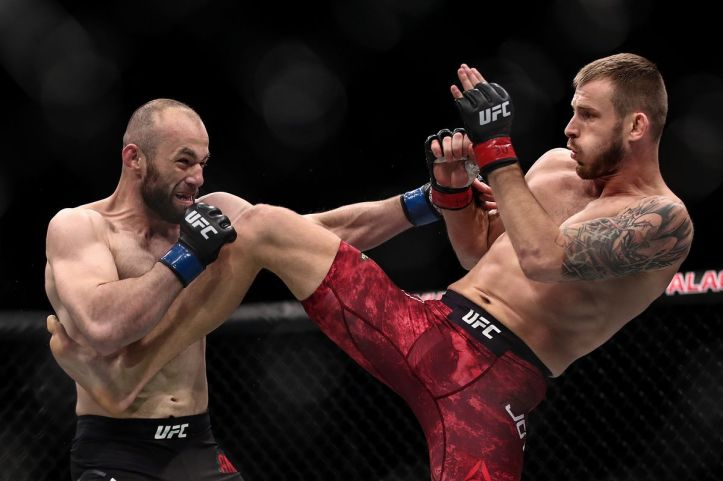 Although without a victory at the UFC, Alen Amedovski is still an entertaining character | Amedovski vs Hu
