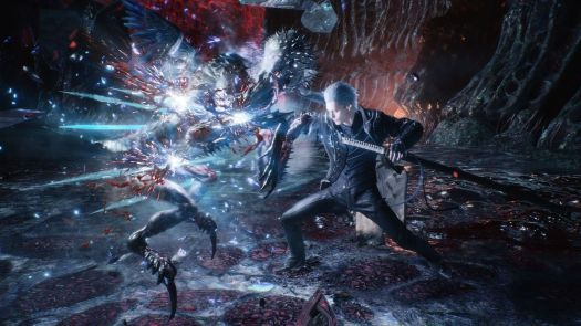 Vergil using Mirror's Edge in Devil May Cry 5 Special Edition