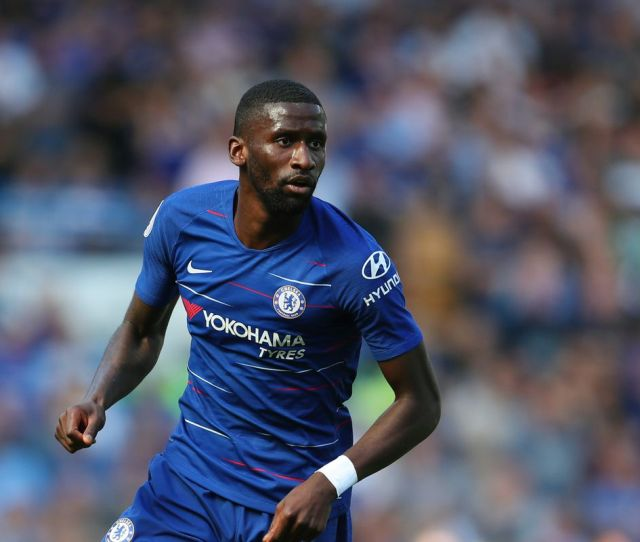 Towards The End Of His First Season In Which He Established Himself As One Of The First Names On The Team Sheet At Stamford Bridge Antonio Rudiger Got