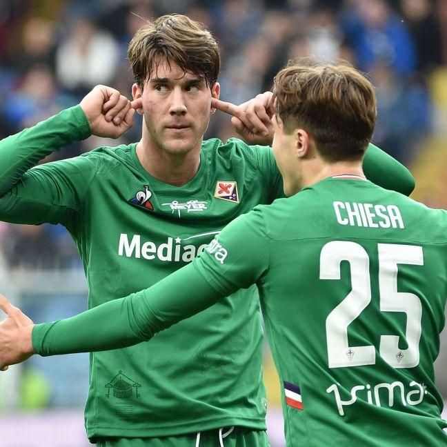 Image result for photos of sampdoria vs fiorentina