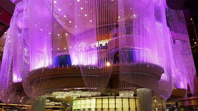 Million Dollar Chandelier Bar And Starbucks Additions To Cosmopolitan Eater Vegas