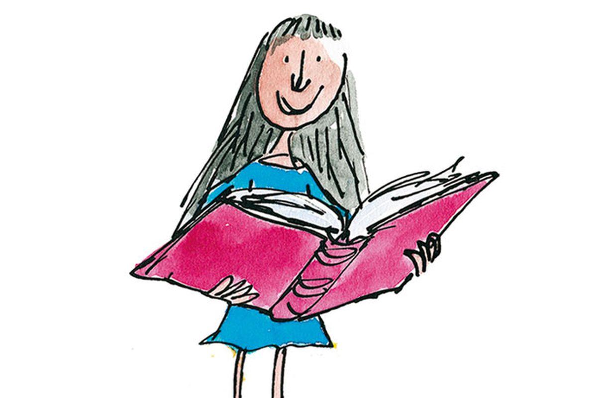 Roald Dahl Illustrator Quentin Blake Imagines Matilda At