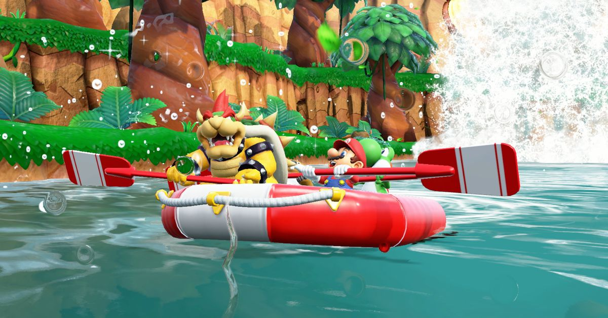 Nintendogives Super Mario Party a much needed online upgrade… three years later