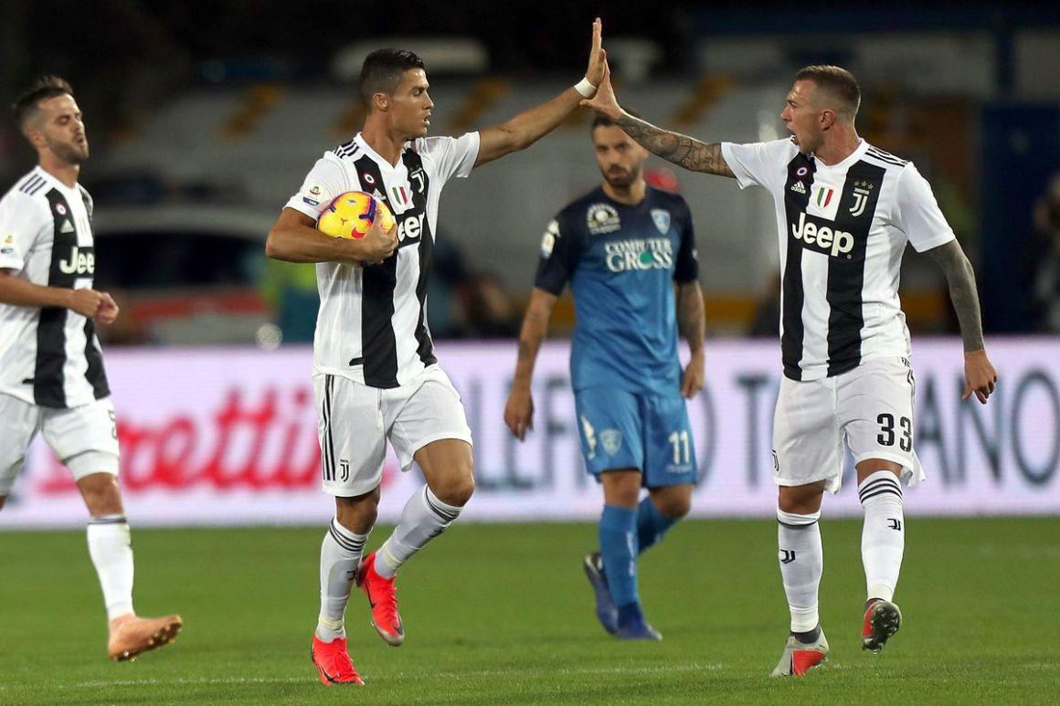 Kết quả hình ảnh cho Ronaldo Juventus Empoli