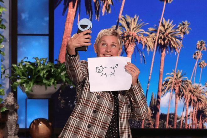 ellen_nft_stick_cat.0 Even Ellen has an NFT | The Verge