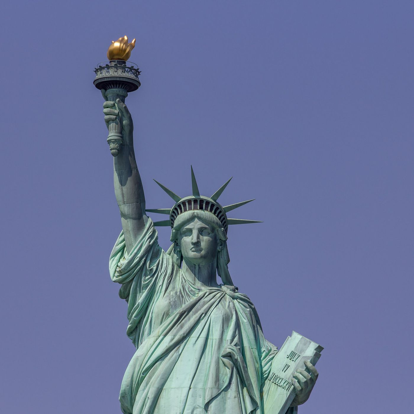Statue Of Liberty S Original Torch Relocated To Its New Home Curbed Ny