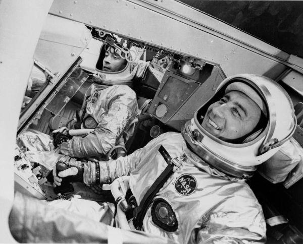 Gemini Apollo and Space Shuttle astronaut John Young has