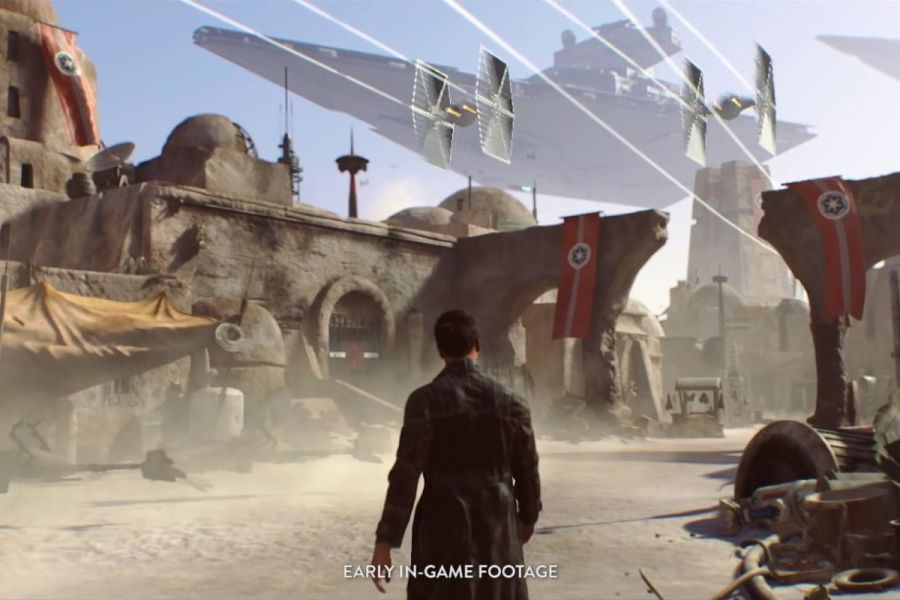 EA s Star Wars  pivot  is a vote of no confidence in single player     An Empire occupied town from the Star Wars project that had been in  development at the now defunct Visceral Games  Visceral Games Electronic  Arts