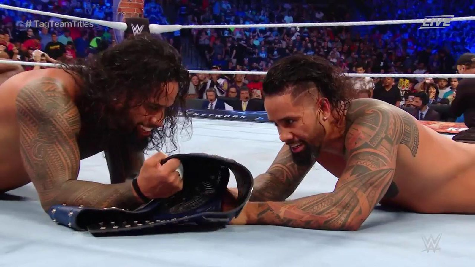 SummerSlam 2017 Results The Usos Are The New SmackDown