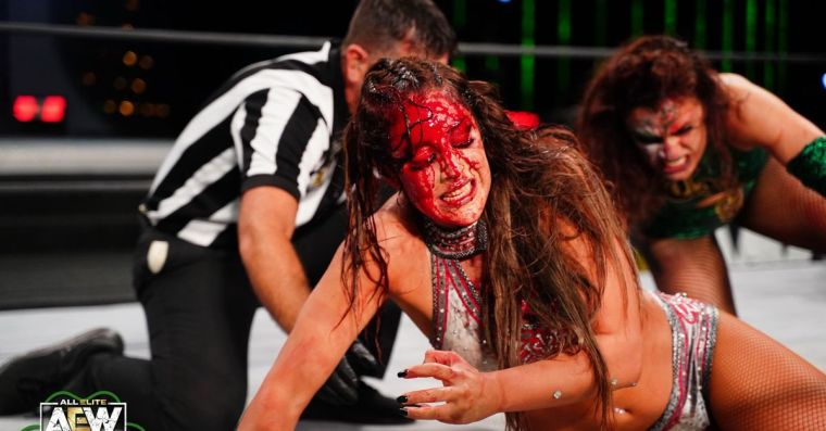 Rosa and Baker react to their incredible main event match on Dynamite