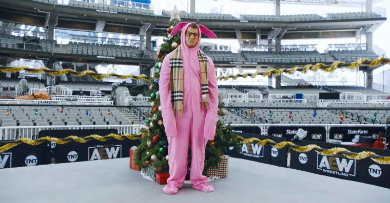AEW reenacts 'A Christmas Story' for TBS & TNT – much to MJF's chagrin