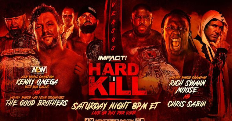 Impact announces a change to Kenny Omega's PPV match