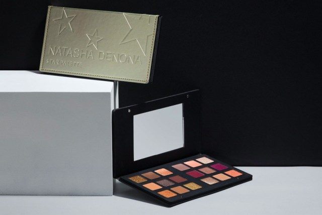 An eyeshadow palette