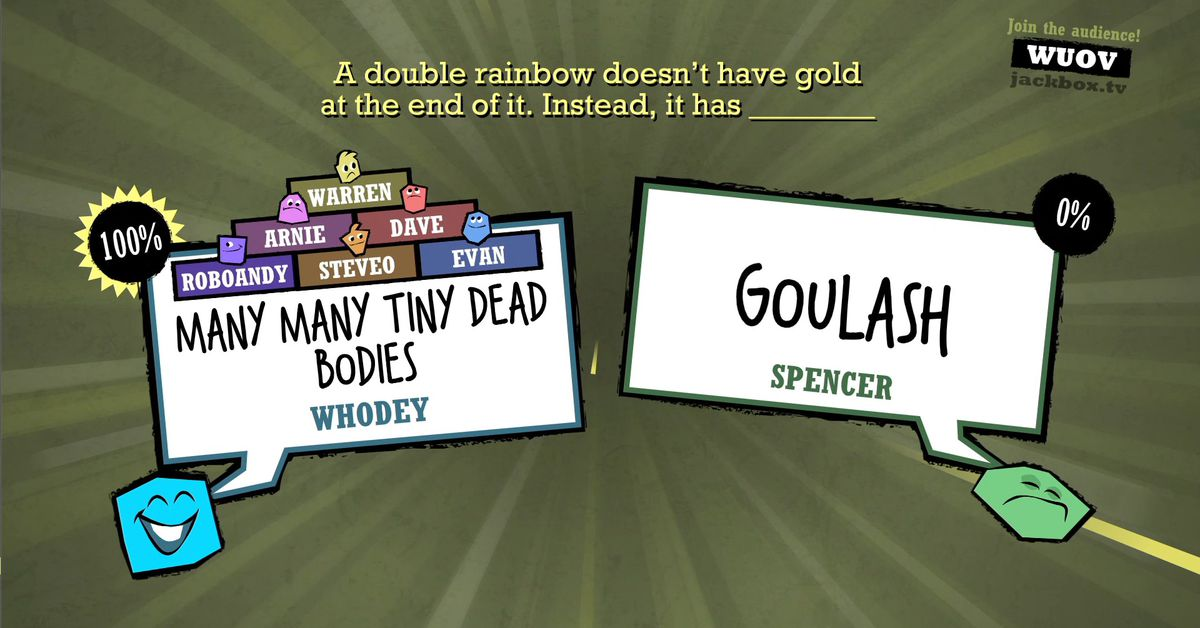 Quiplash, one of the best party games ever, is free on Steam this weekend