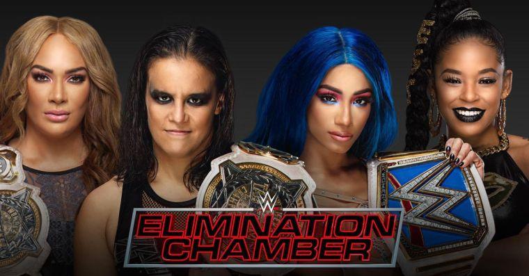 WWE Elimination Chamber preview: Banks & Belair vs. Baszler & Jax