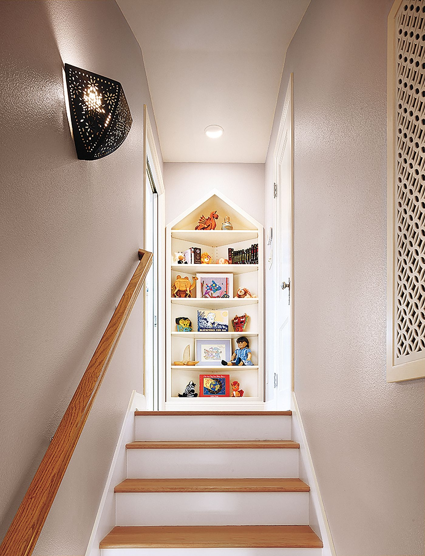 Read This Before You Finish Your Attic This Old House   Opening Up Staircase To Basement   Kitchen   Basement Remodel   Banister   Stairwell   Man Cave