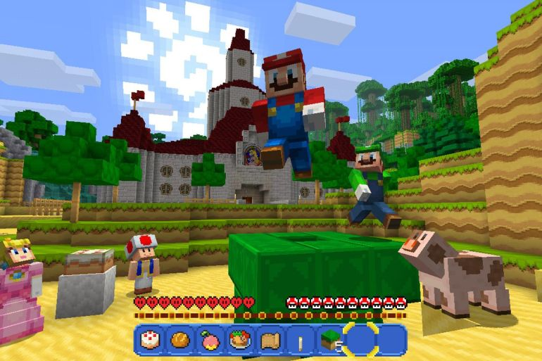 Image result for minecraft switch