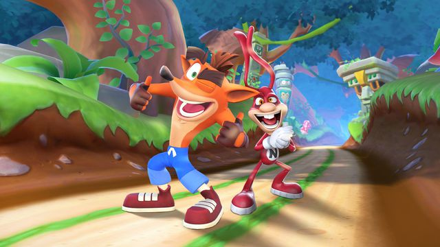 Noid_Crash_PR_Images_Wide.0 The Noid gets back into video games with Crash Bandicoot crossover | Polygon