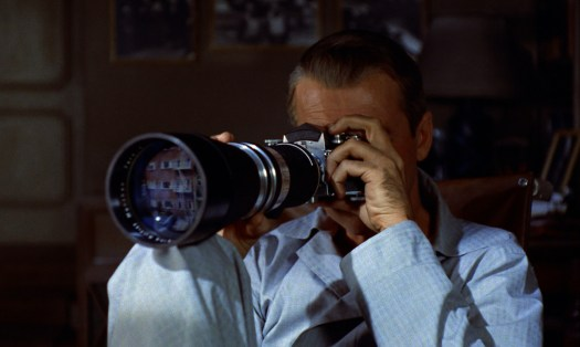 rear window: Jimmy and the camera