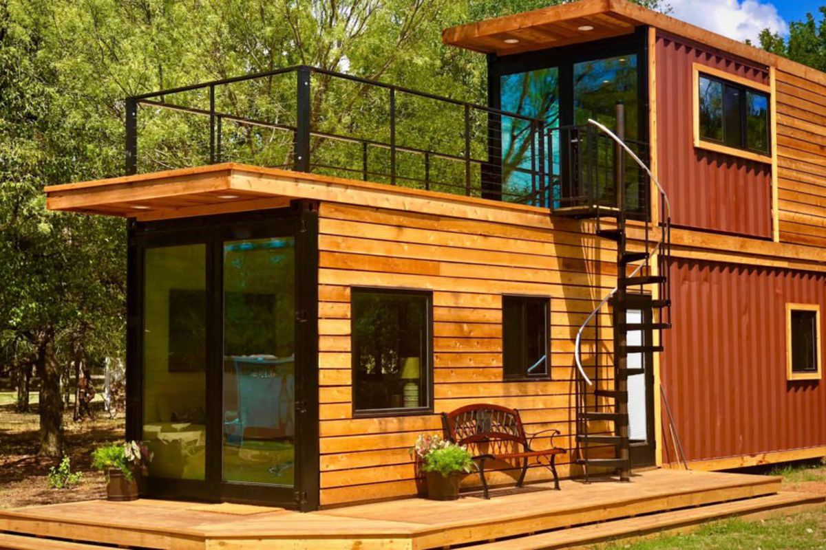 Shipping Container Home Has A Sweet Roof Terrace Curbed