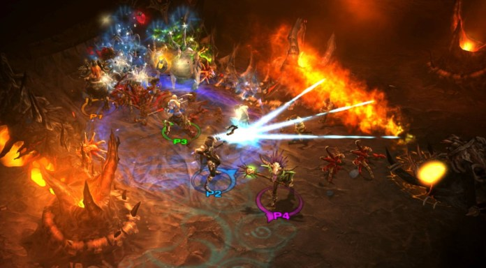 three-player action in Diablo 3: Eternal Collection