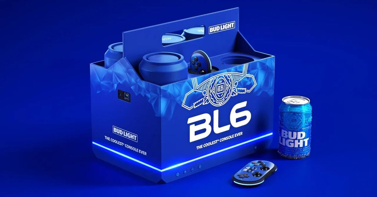 Bud Light made a video game console that also cools two beers