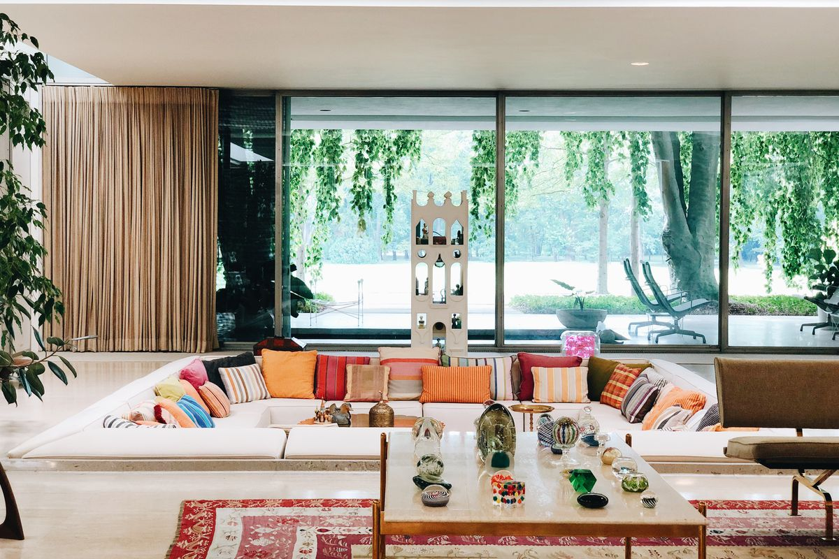 The Miller House In Columbus Indiana Is America S Best Midcentury Modern House Curbed