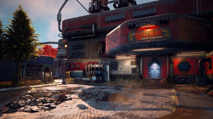 The Outer Worlds swaps Fallout's post-apocalypse for artwork deco in area 3