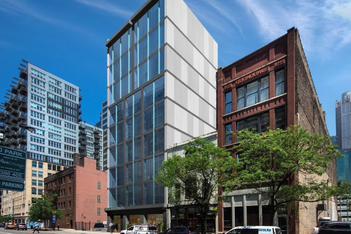 Ten Story Apartment Building Proposed For Chicagos Hot