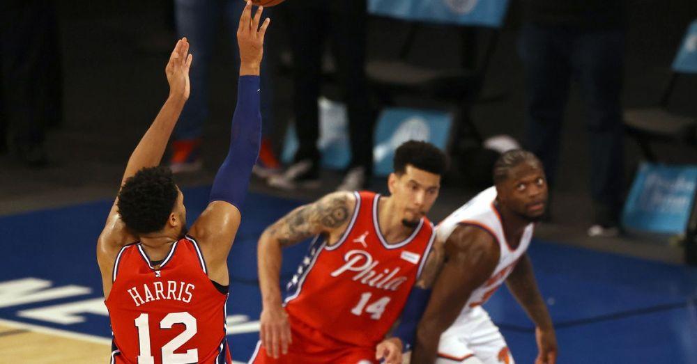 76ers beat Knicks in OT 101-100