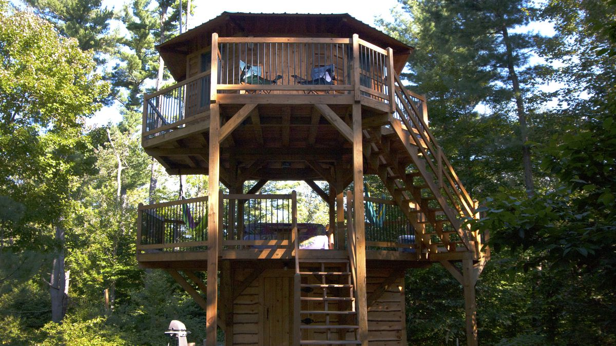 I Played Out My Childhood Dream Of Living In A Treehouse