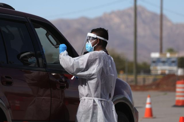 El Paso Striken With Serious Surge Of Coronavirus Cases