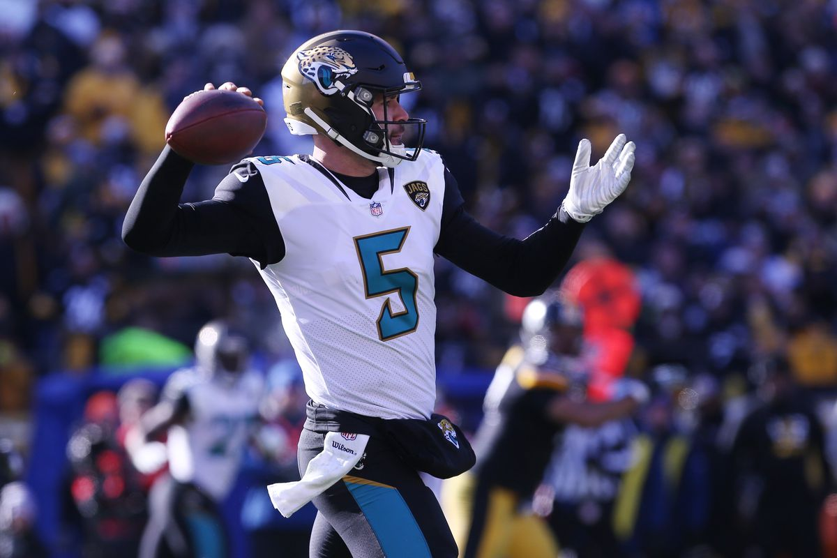Jacksonvilles Blake Bortles Is Here To Save The Playoffs