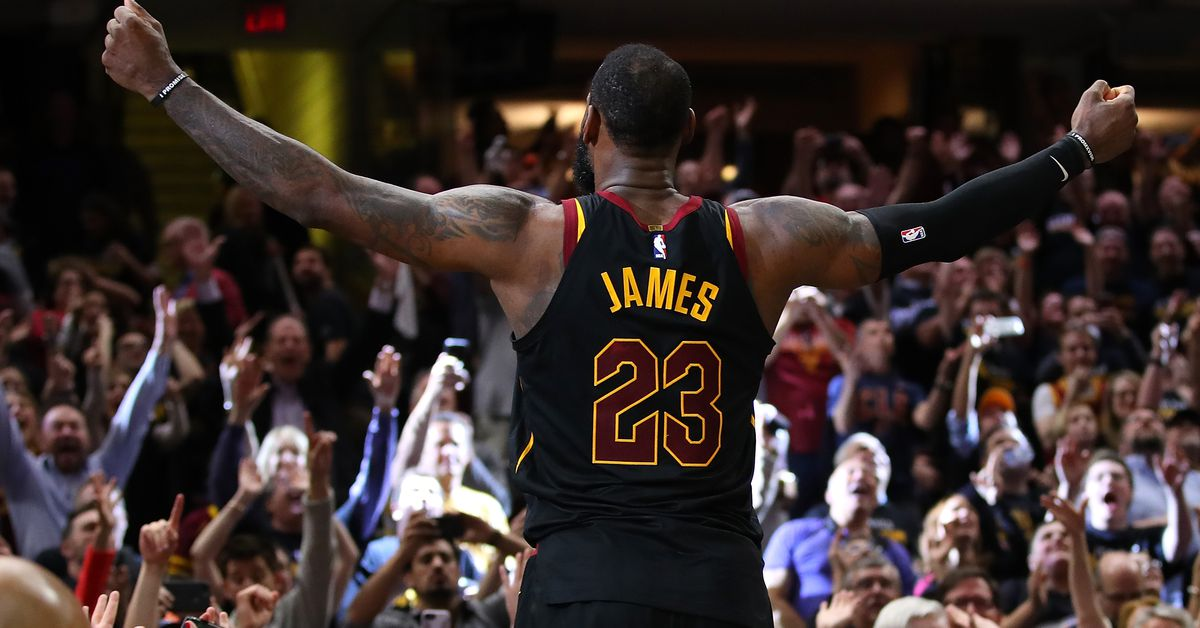 LeBron James Game Winner Vs The Raptors Further Cements