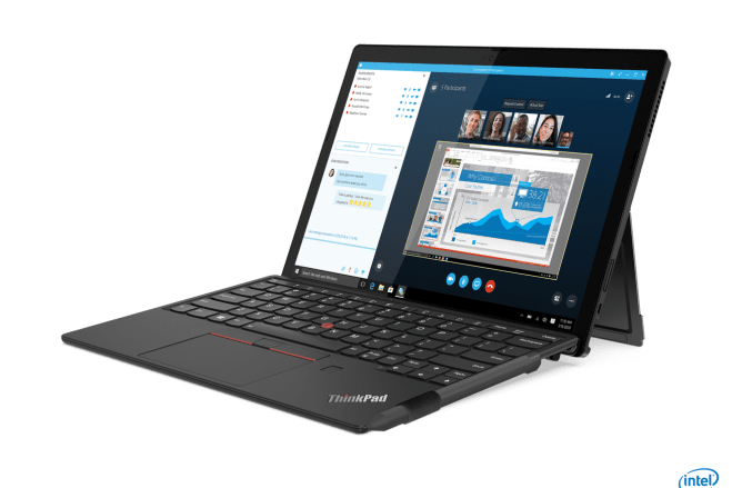 03_Thinkpad_X12_Hero_Front_Facing_Right.0 Lenovo's ThinkPad X12 Detachable has a 12-inch screen that's, well, detachable | The Verge