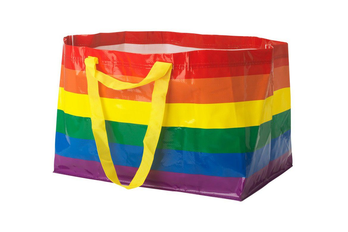 Ikea Releases Rainbow Shopping Bag For Pride Month Curbed