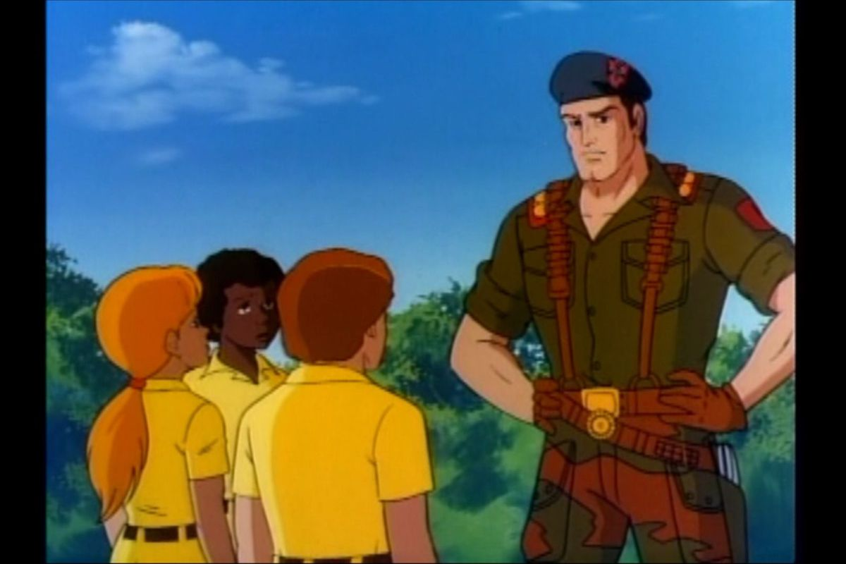 How G I  Joe s Flint joined the battle for America s childhood   Polygon Toward the end of last year Netflix lost the rights to stream the original  G I  Joe cartoons from the 1980s  I hadn t even been aware they were on the