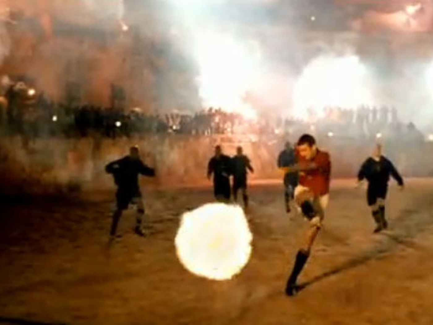 Thierry henry, ronaldinho, eric cantona among other greats. Enhance Nike S 1996 Good Vs Evil Soccer Ad Sbnation Com