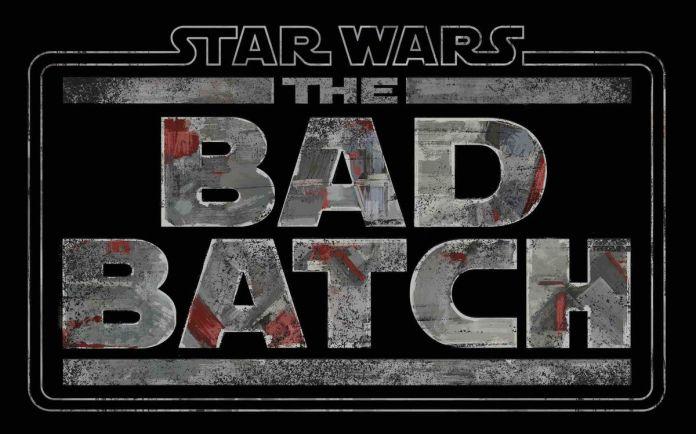star wars: the bad batch title logo image