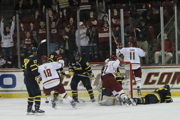 GOAL BY GOAL: Boston College Hockey Grinds Out Win Over ...