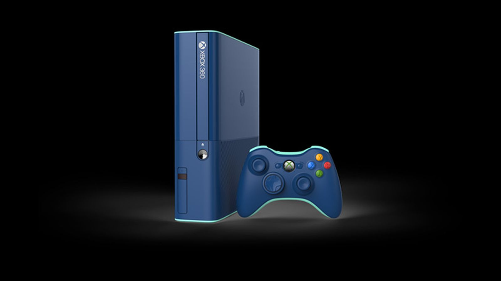 You Can Get This Blue Xbox 360 In A Call Of Duty Bundle