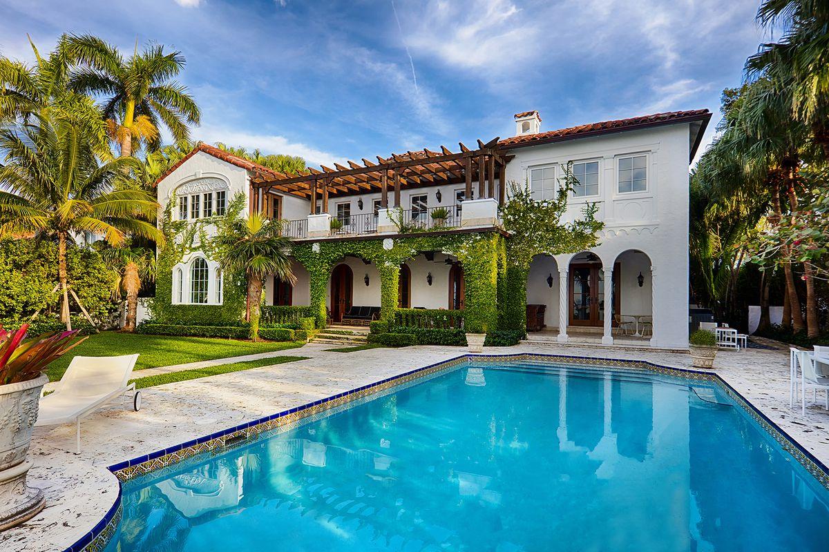 Marvelous Italian Villa In Miami Beach Seeks 145M
