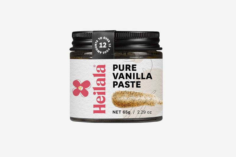 A jar of vanilla paste