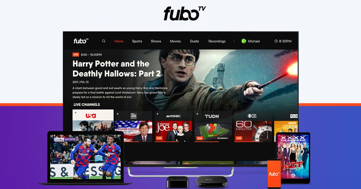 ESPN and other Disney channels now live on FuboTV