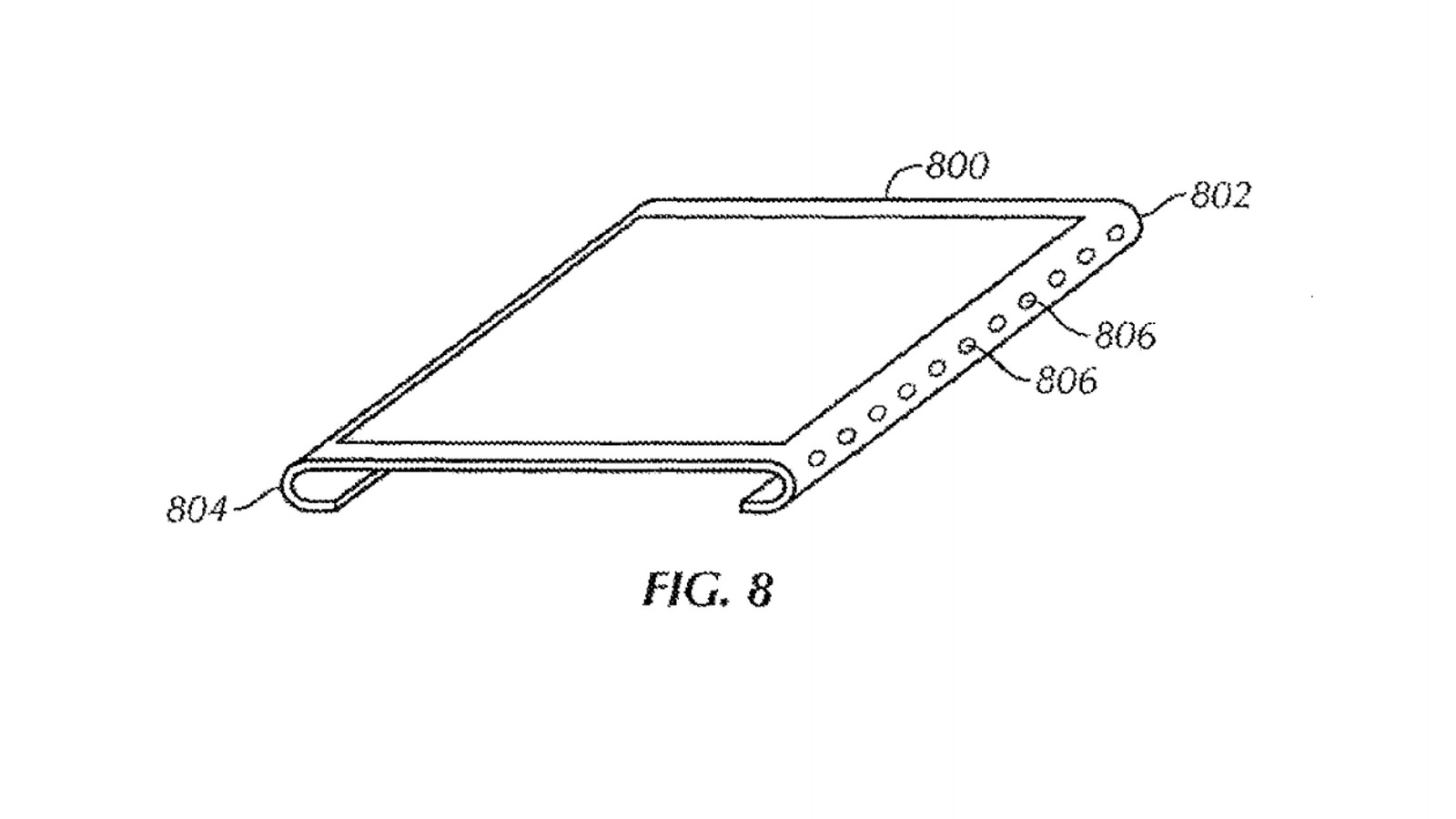 Apple Granted Patents On A Curved Bezel Free Screen And