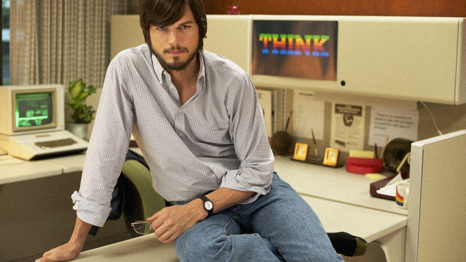 Jobs Review Ashton Kutcher Surprises With A Feverish