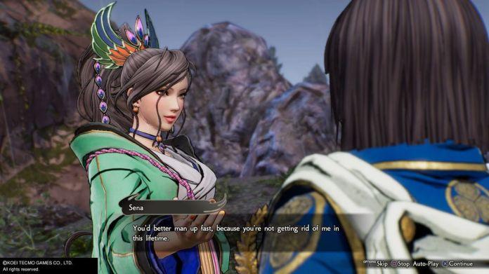 """Sena mówi Ieyasu, że lepiej, żeby """"szybko się uzbierał"""" w Samurai Warriors 5"""