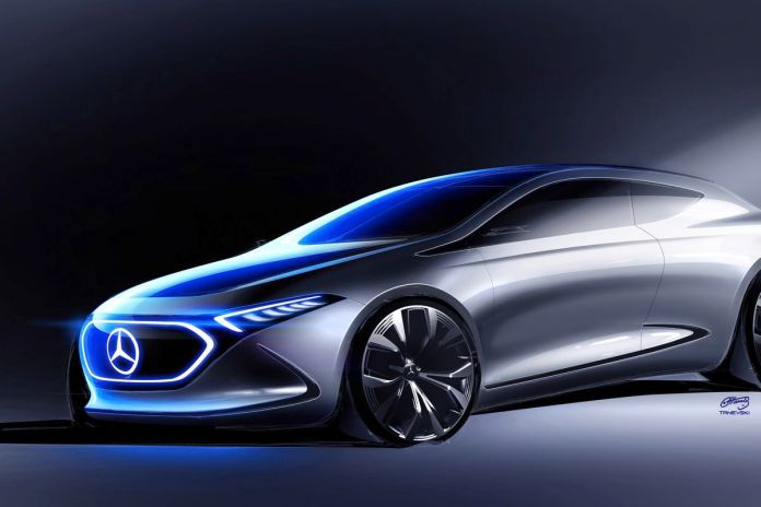 mercedes-benz concept eqa is the company's next showcase of mobility