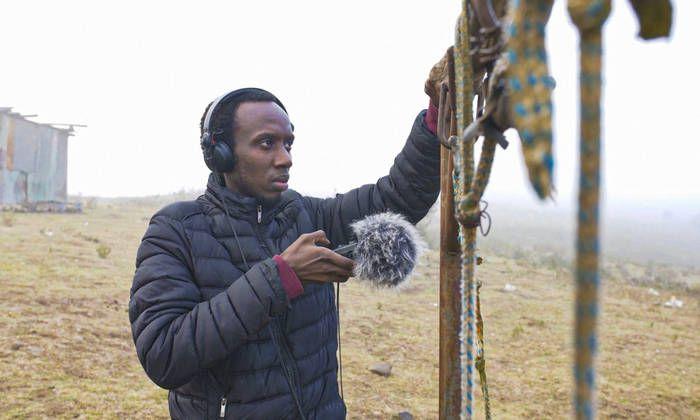 KMRU doing field recordings