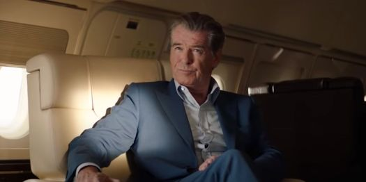 Pierce Brosnan as renowned thief Richard Pace in The Misfits